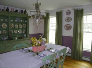 Inspirational Purple Dining Rooms Light