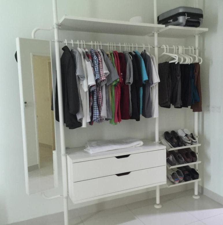 Inspirations Open Wardrobe