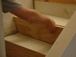 Install Hardwood Stairs Tos Diy