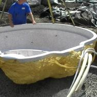 Installing Mineral Spa Hot Tub