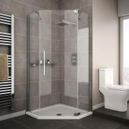 Interior Bathroom Storage Shelf Mirrored