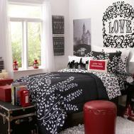 Interior Design Bedroom Black Red Decobizz