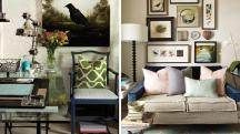 Interior Design Cosy Eclectic Home Office