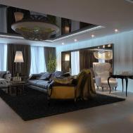 Interior Design Modern Classic Style