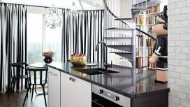 Interior Design Small Black White Fashion Inspired