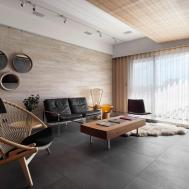 Interior Designs Contemporary Apartment Taipei
