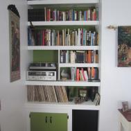 Interior Diy Built Bookcase Bench Window
