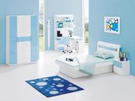 Interior Exterior Plan Cool Blue Bedroom Design