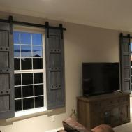 Interior Window Barn Door Sliding Shutters