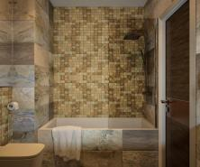 Intriguing Bathroom Decorating Ideas Tiled Bathrooms Retro