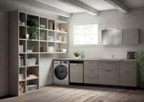 Inventive New Scavolini Composition Combines Bathroom