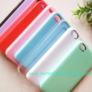 Iphone Plastic 1pc Diy Color Hard Case