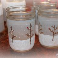 Isavor Weekend Frosted Mason Jars Diy