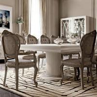 Italian Designer High End Dining Table Chair Set