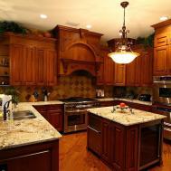 Italian Style Kitchen Cabinets Ethnic Modern