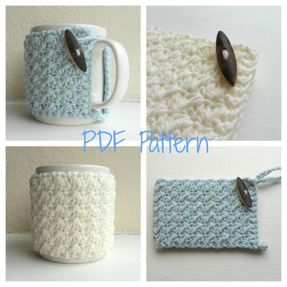 Very Beautiful Diy Crochet Hug Mug Cozy That You Have To See