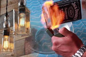 Jack Daniels Diy Light
