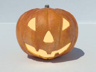 Jack Lantern Halloween Model Realtime Models World