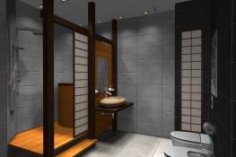 Japanese Bathroom Home Design