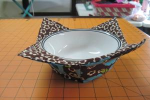 Jean Quilting Microwave Bowl Potholder