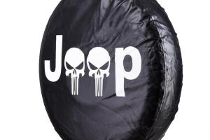 Jeep Wrangler Spare Tire Wheel Soft Cover Case Protector