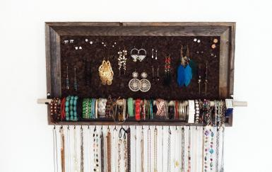 Jewelry Hanger Organizer