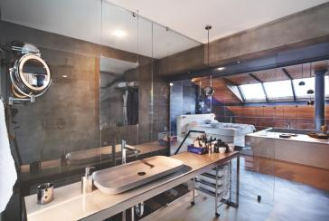 Karakoy Loft Uses Rich Wood Features Creative