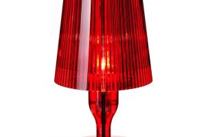 Kartell Ferruccio Laviani Take Table Light Red Panik