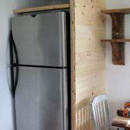 Keeping Cozy Kitchen Building Refrigerator