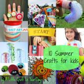 Kid Friendly Summer Crafts Little Craft Your Day
