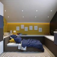 Kids Attic Room Interior Design Ideas