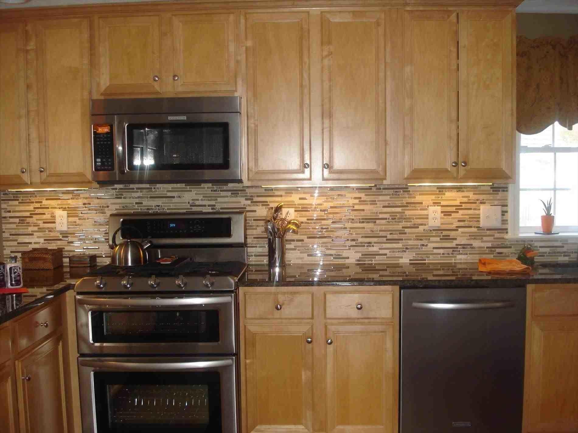 Kitchen Backsplash Ideas Dark Oak Cabinets - Decoratorist ... on Backsplash Ideas For Dark Cabinets And Light Countertops  id=62788