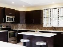 Kitchen Contemporary Backsplash Ideas Dark