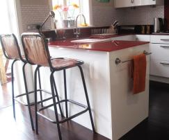 Kitchen Counter Stools Height Regaling Diy