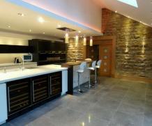 Kitchen Designs Clever Basement Remodel Modern