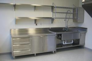 Kitchen Furniture Charming Horizontal Wall Mount