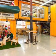 Kurgo Bright Orange Shipping Container Office Haven