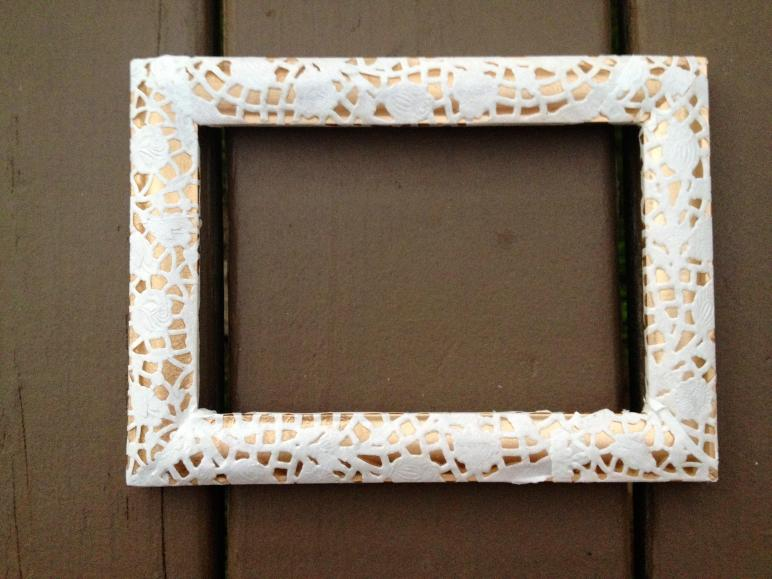 Lace Doily Frames Dream Diy