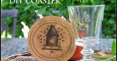Lapin Life Diy Cork Coasters