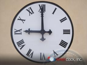 Large Wall Clock Roman Numerals Finest