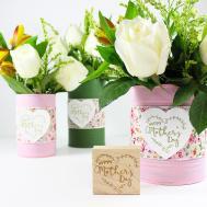 Last Minute Diy Mother Day Vase Rubberstamps Blog