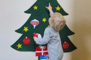 Laurabird Diy Felt Christmas Tree