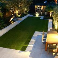 Lawn Garden Dallas Landscape Pool Design