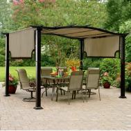 Lawn Garden Patio Gazebo Design Ideas