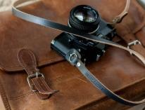 Leather Camera Strap Handmade Straps