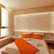 Light Orenge Color Bedroom Orange Walls Burnt