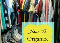 Limited Space Organizing Organize Your Closet