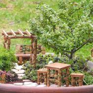 Little Fairy Gardening Plow Hearth Mini