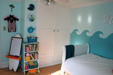 Little Girl Surfer Room Design Dazzle