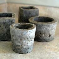 Little Hypertufa Pots